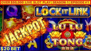 Kõrge piir LU LU TONG Lock It Link mänguautomaat HANDPAY JACKPOT | maitse-1 | Jaotis nr 1
