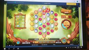 Honey Rush Vlad casino bonus large Win