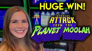 Huge Win! Invaders onset From The Planet Moolah! foremost Ever On An Invaders From Planet Moolah Slot!