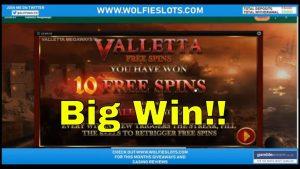 Huge Win on Valletta Megaways