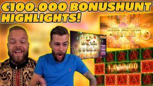 INSANE €100.000 BONUSHUNT OPENING HIGHLIGHTS! 10€ STAKE! large WIN on Online Slots!