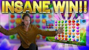 INSANE WIN !!! Fruit politico grande partito WIN - Slot bonus casinò dal flusso live di Casinodaddys
