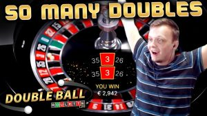INSANE WINS on Double Ball Roulette large Win Session!