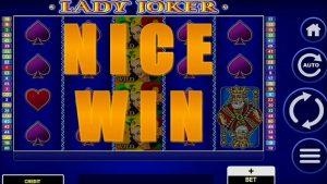 LADY JOKER NICE WIN casino bonus SLOTS / FORZZA casino bonus TUNISIE