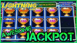 ⚡️Lightning Link Best Bet JACKPOT HANDPAY ⚡️ Límite ALTO $ 25 APUESTA MÁXIMA Bonos Rondas de máquinas tragamonedas bono de casino