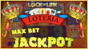 OckLock It Link Loteria JACKPOT HANDPAY 🔒HIGHT chegarasi $ 25 MAX BET Bonus Rounds Slot Machine Casino bonus 🔒