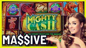 ENORME WINST op Mighty Cash * Onze GROOTSTE overwinning op deze slot !! | casino bonus Gravin