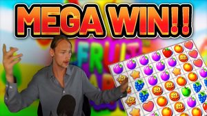 MEGA WIN!!! Fruit political party large WIN – casino bonus Slots from Casinodaddys live flow