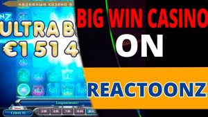 MEGA large WIN ON REACTOONZ. SUPER tape WIN casino bonus ONLINE inwards SLOT MACHINES
