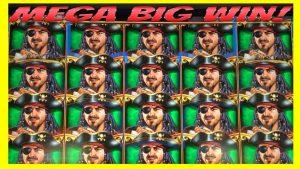 ** MEGA veliki WIN! ** ukupno pokrivanje DIJELA! Piratni brod WMS slot automata dobiva bonus!