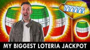 🤑 MY BIGGEST LOTERIA JACKPOT 🇲🇽 A MAJOR Tease & HUGE Win! 💸 Brian Christopher Slots