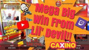 Mega large Win From Lil´ Devil!!