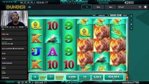 Mr.casino პრემია - დიდი WIN Raging მარტორქა BONUS 4 × 340 ევრო !!!
