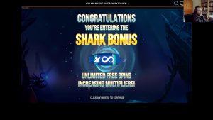 Lojalni casino bonus na mreži - Razor Shark - Fetter Gewinn - velika pobjeda