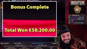 ROSHTEIN CRAZY 58200 EURO MEGA large WIN XCALIBUR'S pick casino bonus ONLINE SLOT