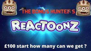 Reactoonz Hunt Variantları - böyük qazanclar və gözəllər qazanc qazandırır - Bonus Ovçuları