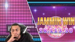 Reaksjon på 28.000 € ULTRA large WIN innover JAMMIN JARS !!! 😱😎 Al Gear reaiert på store Wins💰