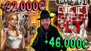 Roshtein Top 5 Crazy Wins inwards Slots – X3180 large WIN inwards Deadwood in addition to X925 inwards Tombstone