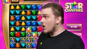 SUPER MEGA large WIN ON STAR CLUSTERS (large Time Gaming)