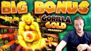 SUPER SPINS on Gorilla Au Megaways – SUPER large WIN!