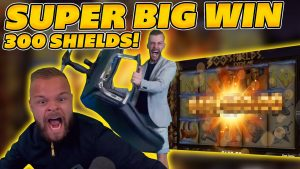 SUPER large WIN on 300 SHIELDS XTREME! 300x STAGE INSANE WILDS! HUGE WIN on Online Slots!