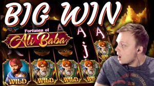 SUPER large WIN on Fortunes of Ali Baba!