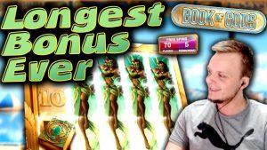 SUPER large WIN volume of Gods – The LONGEST Bonus?!