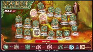 Secret Of The Stones large WIN – 2.5 EURO BET