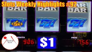 Slots Weekly Highlights #92 for You who are busy★large Win High boundary – Blazin Gems Slot 赤富士スロット
