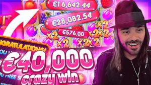 Streamer Ogromna zmaga 40.000 € na reži za politične stranke Fruit - Top 5 največjih dobitkov koledarskega tedna