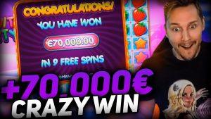 Streamer tape win 70.000€ on Fruit political party Slot – Top 5 Biggest Wins of calendar week
