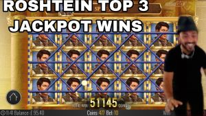 TOP 3 JACKPOT WIN ON volume OF DEAD SLOT | ABSOLUTE tape WIN FROM ROSHTEIN!!!!