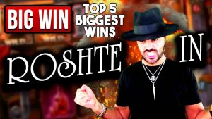 TOP 5 BIGGEST CRAZY WINS OF THE calendar week | casino bonus GAMES | ROSHTEIN WINS