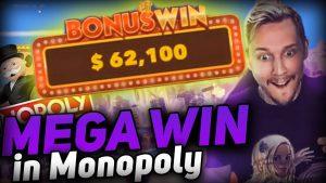 ULTRA large WIN 62K MONOPOLY LIVE  Top 5 Biggest Wins Online casino bonus