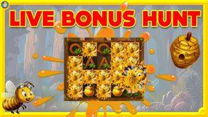 WILD SWARM HUGE WIN!! LIVE BONUS HUNT!