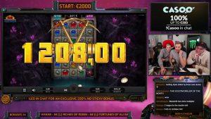 casino bonus win - grote winst op jammin potten - casino bonus slots grote winsten