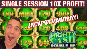 ⬆️⬆️ ii large WINS, ane JACKPOT,  🔥 HOT MIGHTY CASH DOUBLE upwards!! | $nine BETS! 👑 🏆 🎰 💰