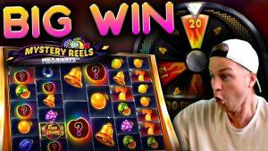 large WIN BONUS on Mystery Reels Megaways!