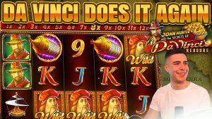 large WIN ON DA VINCI'S TREASURE PROGRESSIVE BONUS | unloosen SPINS ON PRAGMATIC PLAY ONLINE SLOT