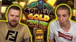 large WIN on GORILLA Au MEGAWAYS – casino bonus Slots large Wins