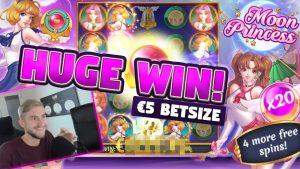 CHIẾN THẮNG lớn !!! satelite Princess lớn WIN - Slots - trò chơi tiền thưởng sòng bạc (Máy đánh bạc trực tuyến)