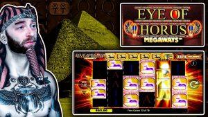 großer Gewinn auf Optik von Horus Megaways !!