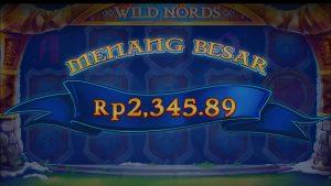 novel GAME large WIN BONUS HUNT WILD NORDS   cherry-red TIGER
