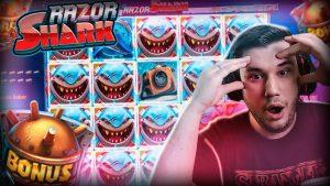 Раман Mega win x3800 на Shark Shark - Топ-5 вялікіх выйгрышаў унутры казіно, бонусны слот