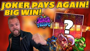 some other HUGE WIN on JOKER TROUPE! large WIN on Online Slots!