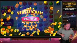 tape WIN!! Fruit political party large WIN from base of operations game – Online Slots from Casinodaddys live flow