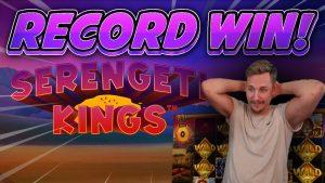 tape WIN!!! Serengeti Kings large WIN – casino bonus Slots from Casinodaddys live current