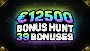 €12500 BONUS HUNT RESULTS | 39 ONLINE casino bonus SLOT MACHINE FEATURES | DA VINCI'S TREASURE & DRAGO