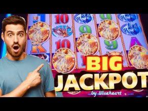 ★ SUPER COOL! ★ BUFFALO atomic number 79 slot machine JACKPOT HANDPAY WIN!