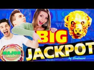 ★ large BETS large WINS? ★  BUFFALO atomic number 79 slot JACKPOT HANDPAY together with HUGE  BONUS WINS!